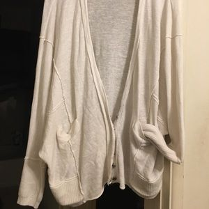 Free People Snap Button Cardigan